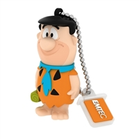 Emtec International Hanna Barbara Fred Flintstone 8 GB USB 2.0 Flash Drive