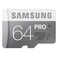 Samsung 64GB Class 10 Pro MicroSD Card & Adapter