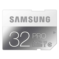 Samsung 32GB Pro SDHC Class 10 / UHS-1 Flash Memory Card