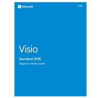 Microsoft Visio Standard 2016 (Win/Mac)