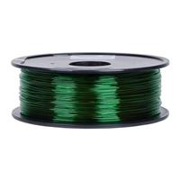 Inland 1.75mm Green PETG 3D Printer Filament - 1kg Spool (2.2 lbs)
