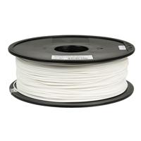Inland 1.75mm White PETG 3D Printer Filament - 1kg Spool (2.2 lbs)