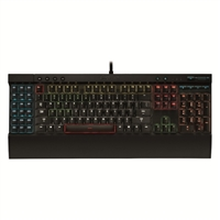 Corsair Gaming K95 RGB Illuminated Mechanical Gaming Keyboard - Cherry MX Red Switch