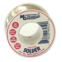 "MG Chemicals Sn60 / Pb40 Leaded Solder - 0.025"" Spool"