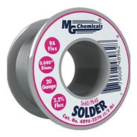 "MG Chemicals Sn60 / Pb40 Leaded Solder - 0.04"" Spool"