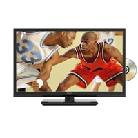 "Seiki SE24FY27-D 24"" (Refurbished) 1080p LED HD TV w/ Built-In DVD Player"