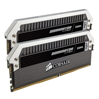 Corsair Dominator Platinum 16GB 2 x 8GB DDR4-3000 PC4-24000 CL15 Quad Channel Desktop Memory Kit