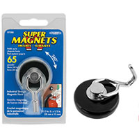Master Magnetics Magnetic Swivel Hook Holds Up to 65lbs
