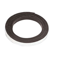 Master Magnetics Flexible Magnetic Tape with Adhesive 1/2 x 30 inch