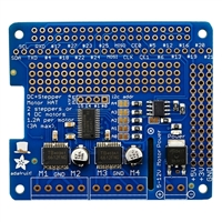 Adafruit Industries DC and Stepper Motor HAT for Raspberry Pi - Mini Kit