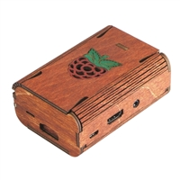 C4Labs FlexPi Case for Raspberry Pi 2/B+ - Wood Raspberry
