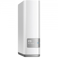 WD My Cloud 6TB Personal Cloud Storage NAS WDBCTL0060HWT-NESN Factory-Recertified - White