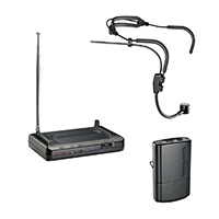 Audio Technica Wireless Headworn Microphone Set