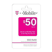 InComm T-MOBILE $50 REFILL