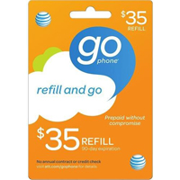 InComm AT&T $35 REFILL