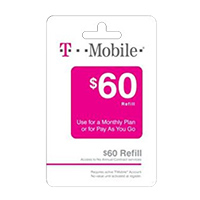 InComm T-MOBILE $60 REFILL