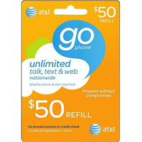 InComm AT&T $50 REFILL