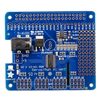 Adafruit Industries 16-Channel PWM / Servo HAT for Raspberry Pi - Mini Kit