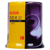 Inland DVD-R 16x 4.7GB/120 Minute Disc 100-Pack Cake Box