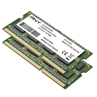 PNY 16GB 2 x 8GB DDR3-1600 PC3-12800 CL11 Notebook Memory Kit
