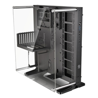 Thermaltake Core P5 Open Frame ATX Mid-Tower Computer Case - Black/Clear