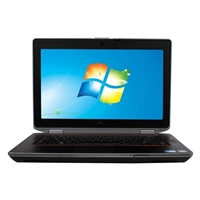"Dell Latitude E6320 Windows 7 Professional 13.3"" Laptop Computer Refurbished - Black"