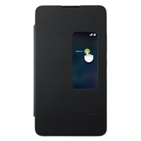 Jeg & Sons Mate 2 Flip Cover Case w/ Window Black