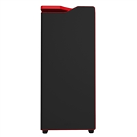 NZXT H440 Mid-Tower Windowed Computer Case - Black/Red