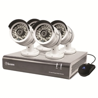 Swann Communications 8 Channel Professional HD DVR Security System with 4 Cameras