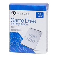 """Seagate 2.5"""" 1TB Game Drive for Play Station"""