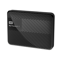 "WD My Passport X 3TB 5,400 RPM SuperSpeed USB 3.0 2.5"" External Hard Disk Drive - Black"