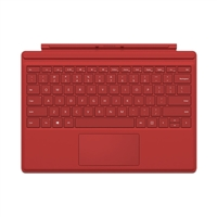 Microsoft Surface Pro 4 Type Cover - Red