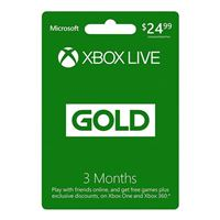 InComm Xbox Live 3 Month