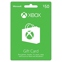InComm Xbox Gift Card $50