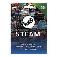 InComm Steam $100 Wallet Card
