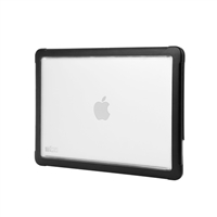 "STM dux Case for Macbook 12"" - Clear/Black"