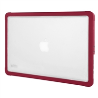 "STM dux Hard Shell Case for MacBook Air/Pro 13"" with Retina Display - Chili"