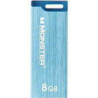 Monster Digital USBCS-0008-C 8GB USB 2.0 Flash Drive