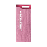 Monster Digital USBCS-0008-P 8GB High Speed USB 2.0 Flash Drive Pink
