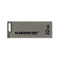 Monster Digital USBCS-0032-D 32GB Super Speed USB 2.0 OTG Advanced Series Drive Gray