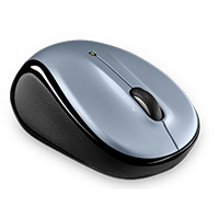 Logitech M325 (Refurbished) Wireless Mouse - Light Silver