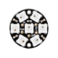 Adafruit Industries NeoPixel Jewel - 7 x WS2812 5050 RGB LED with Integrated Drivers