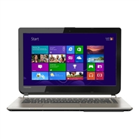 "Toshiba Satellite E45-B4200 14"" Laptop Computer Refurbished - Brushed Aluminum Finish in Satin Gold"