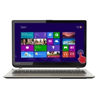 "Toshiba Satellite S55T-B5152 15.6"" Laptop Computer Refurbished - Brushed Aluminum Finish in Satin Gold"