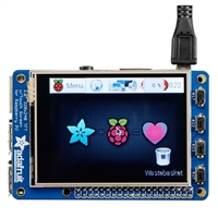 "Adafruit Industries PiTFT Plus Assembled 320x240 2.8"" TFT Resistive Touchscreen"