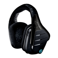 Logitech G933 Artemis Spectrum Wireless RGB Illuminated 7.1 Surround Sound Universal Gaming Headset - Black