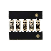 Adafruit Industries LED Sequins Royal Blue - 5 Pack