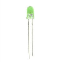 Adafruit Industries Super Bright Green 5mm LED - 25 Pack