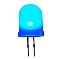 Adafruit Industries Diffused Blue 10mm LED - 25 Pack