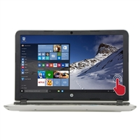 "HP Pavilion 15-ab283nr 15.6"" Laptop Computer - Natural Silver"